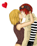 Mello and Matt by metal-marty
