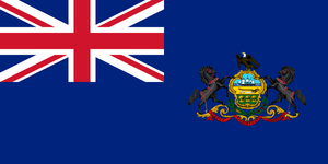 Modern British Pennsylvania Colony Flag by eddsworldbatboy1