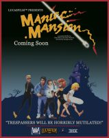 Maniac Mansion Movie Poster by LordDavid04