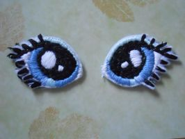 embroidery eyes example by PlushPrincess