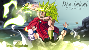 broly ssj3 vs goku by salvamakoto