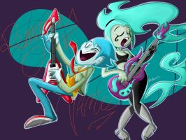 Ghostly Rockers by hyper-anticosmo