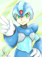Rockman X by LittleOcean