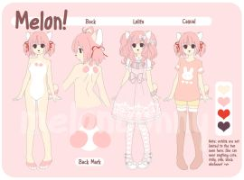 Melon Ref by melonbunny