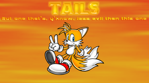 Tails wallpaper by SonicBlueBlur94
