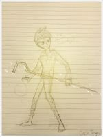 Jack Frost Sketch Sketch by Kanivah