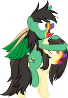 Cookie Zombie Tast.d Tart and Golden Lily by Comeha