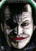 Nicholson's Joker - SketchCard by KOSARTeffects
