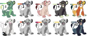 Palette Lions 3 by smudge-92
