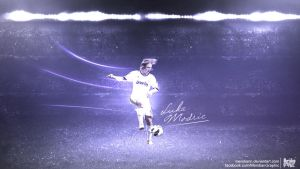 Luka Modric by Meridiann