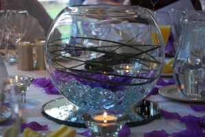 Wedding Table Centrepiece by mr-macd