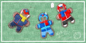 Gingerbread Reploids by NotAnotherZeroFan
