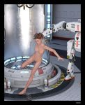 Space Ship experiment by beedoll