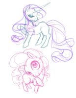 MLP Sketches 1 by sererena