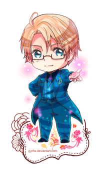 America character Chibi II .:APH:. by GYRHS
