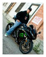 Monster Energy ZX-10R by cutterp