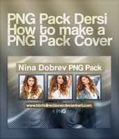 +PNG Pack Dersi / How to make a  PNG Pack Cover by btchdirectioner