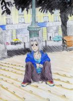 Gokudera-kun erm.. in Conce xD by chix75