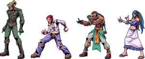 ESP.er test sprites - group 2 by combustocrat