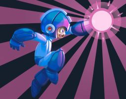 Mega man by drakotitan