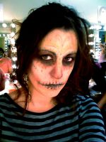 Voodoo Skull Make-Up by MichellePrebich