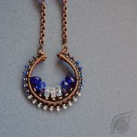 Simple blueberry (necklace) by NADYjewel