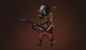 Cute-ass Pyro by Tikiface