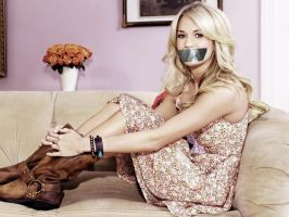 Carrie Underwood Gagged by N099ER