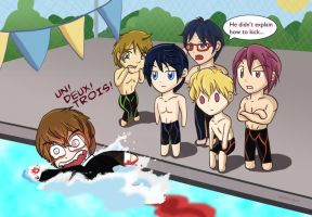 Swimming Anime Lessons by alchimique
