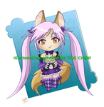Chibi Elin- iScibbleChocotroll won it by Sxania