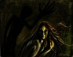 Shadow Creature by heatherkparks