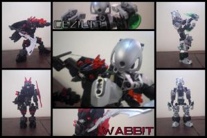Self Matoran: Chapter 2 - Wabbit and Cezium by Leaith