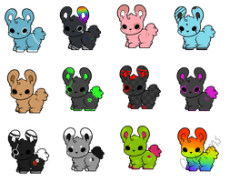 Bunneh Adopts by BunsDream
