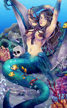 The Mermaid by Dark-Arya