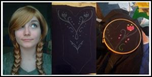 WIP Anna Cosplay Frozen by MAJCosplay