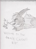 Welcome Chica by Kitty-of-Doom524