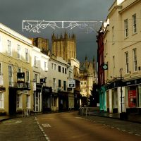 High Street on Christmas Day by EarthHart