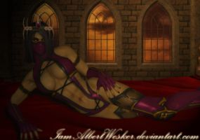 Princess of the underworld by IamAlbertWesker