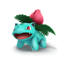 Ivysaur, Smash Bros Trophy Render