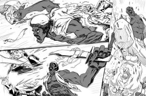 Black Dynamite: Triple kill by ChaseConley