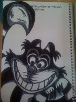 The Cheshire Cat by DominiqueKirkby