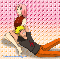 *~NaruSaku~* Happy Valentine's Day!! by Ejiputotsuki