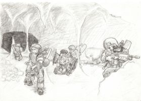 Dwarven special forces by Emrun