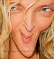 Uma Thurman by David-Duque