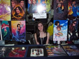 Otakon Artist Alley 2012 by daniellesylvan