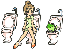toilet rooms by ChunChunCherry
