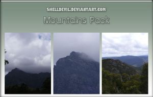 Mountains Pack 1 by shelldevil