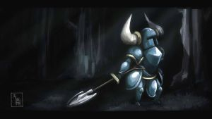 Shovel Knight in Shining Armor by ukalayla