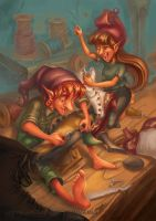 The Elves and the Shoemaker 2014 5 by RosieVangelova