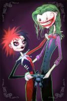 Mister J and Harley by GraphicGeek